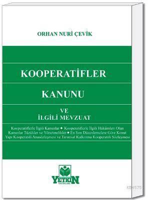 Kooperatifler Kanunu ve İlgili Mevzuat