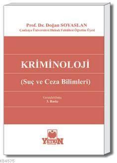 Kriminoloji-(Suç ve Ceza Bilimleri)