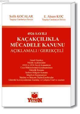 4926 Sayılı Kaçakçılıkla Mücadele Kanunu