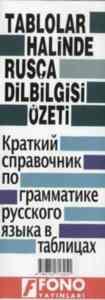 Tablolar Halinde Rusca Dilbigisi Özeti
