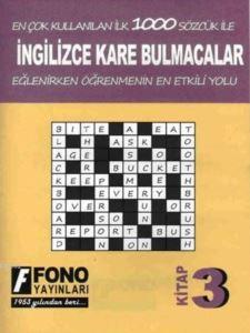İngilizce Kare Bulmacalar 3