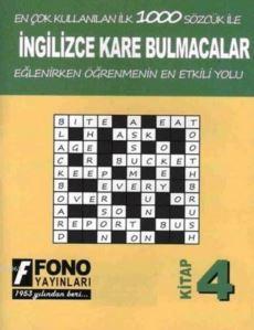 İngilizce Kare Bulmacalar 4