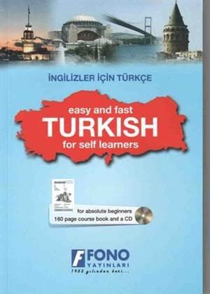 İngilizler İçin Türkçe; (1 Kitap + 1 Cd)