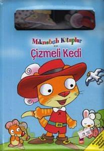 Mıknatıslı Kitaplar - Çizmeli Kedi