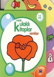 Minik Kulaklı Kitaplar - Renkler