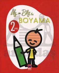 Lilly ve Billy ile Boyama - 2 Yaş