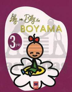 Lilly ve Billy ile Boyama - 3 Yaş