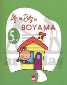 Lilly ve Billy ile Boyama - 5 Yaş