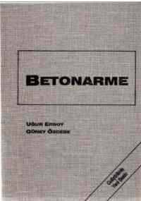 Betonarme Temel İlkeler TS - 500 - 2000 ve Türk Deprem Yönetmeliğine ( 1998 ) Göre Hesap (Ciltli)