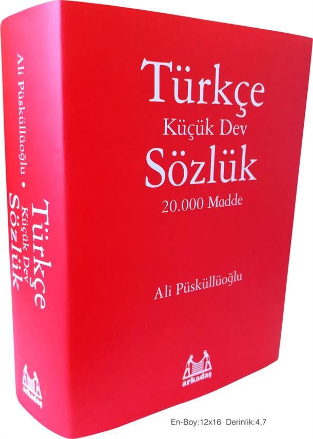 Türkçe Sözlük 20.000 Madde Yeni Versiyon
