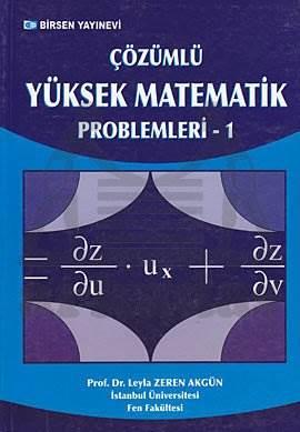 Yüksek Matematik Çözümlü Problemler C1