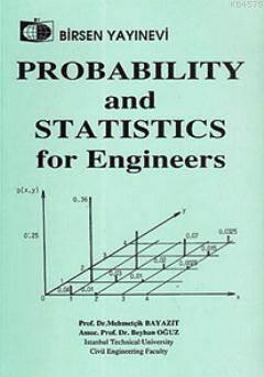 Mühendisler için İstatistik(İngilizce)