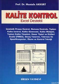Kalite Kontrol; Excel Destekli