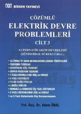 Çözümlü Elektrik Devre Problemleri C3