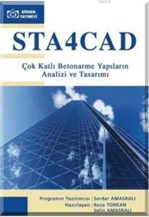 STA4CAD Çok Katlı Betonarme Yapıların Analizi veTasarımı