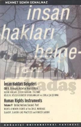 İnsan Hakları Belgeleri cilt: 5