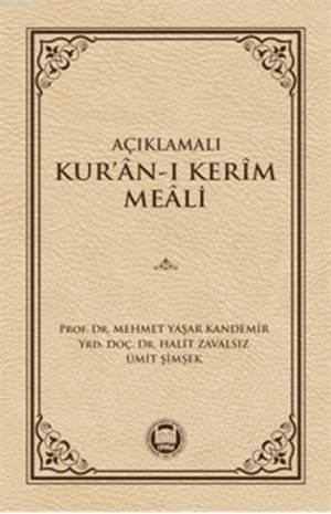 Açiklamali Kur'an-i Kerim Meali
