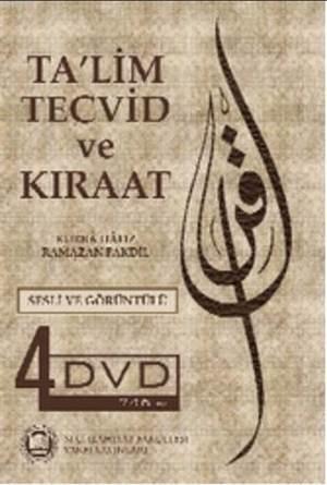 Ta'lim, Tecvid ve Kiraat (DVD); Sesli Görüntülü, 4 DVD Set
