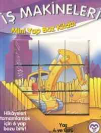 İş Makineleri Mini Yap Boz Kitabı