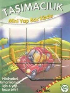 Taşımacılık Mini Yap Boz Kitabı