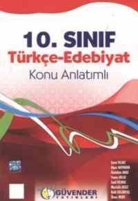 10 Sınıf Türkçe- Edabiyat Konu Anlatımlı