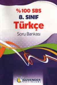 Güvender %100 SBS 8. Sınıf Türkçe Soru Bankası