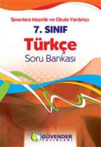 Güvender %100 SBS 7. Sınıf Türkçe Soru Bankası