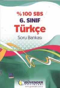 Güvender %100 SBS 6. Sınıf Türkçe Soru Bankası