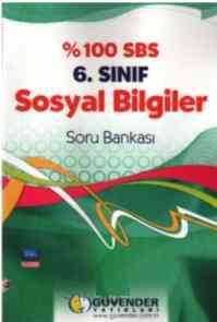 %100 SBS 6. Sınıf Sosyal Bilgiler Soru Bankası