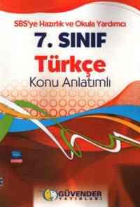 7.Sınıf Türkçe Konu Anlatımlı