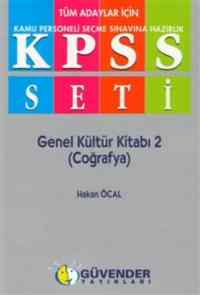 """Güvender KPSS Seti """"Genel Yet.-Genel Kült."""