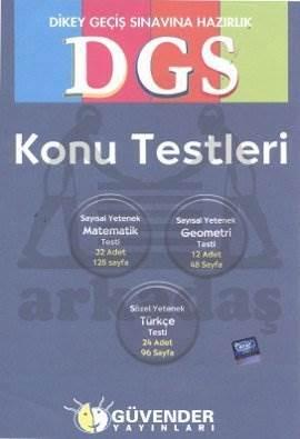 Güvender DGS Konu Testleri