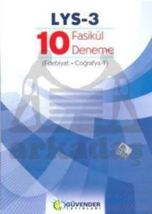 LYS-3 10 Fasikül Deneme (Edebiyat, Coğrafya-1)