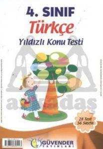 Güvender 4 Sınıf Türkçe Poşet Testi 28 Adet