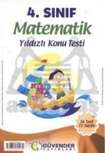 Güvender 4 Sınıf Matematik Poşet Test 36 Adet