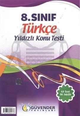 8.Sınıf Türkçe Yıldızlı Konu Testi