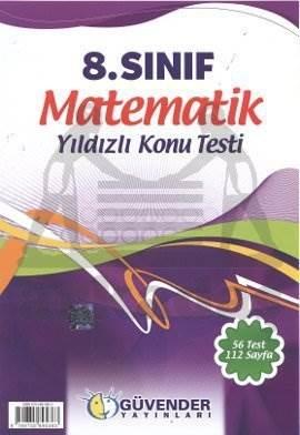 8.Sınıf Matematik Yıldızlı Konu Testi