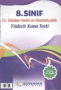 Güvender 8. Sınıf İnkilap Tarihi Ve Atatürkçülük Poşet Test 32 Adet