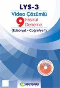 LYS-3 Video Çözümlü 9 Fasikül Deneme (Edebiyat-Coğrafya 1)