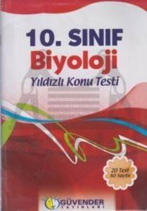Güvender 10 Sınıf Biyoloji Poşet Test