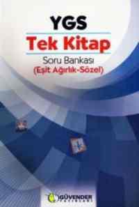 Güvender Ygs Tek Kitap Soru Bankası (Sözel-Eşit Ağırlık)