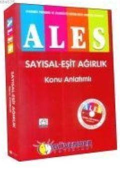 ALES Sayısal - Eşit Ağırlık Konu Anlatımlı + DVD Hediyeli