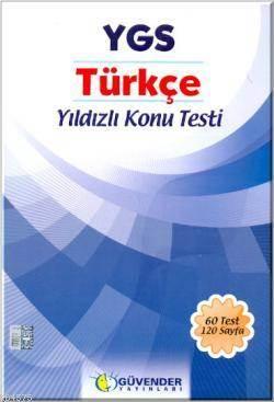 YGS Türkçe Yıldızlı Konu Testi