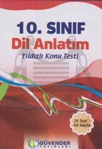 Güvender 10. Sınıf Dil Anlatım Poşet Test 24 Adet