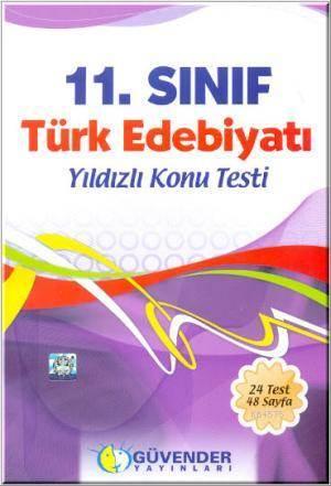 11.Sınıf Türk Edebiyatı Yıldızlı Konu Testi