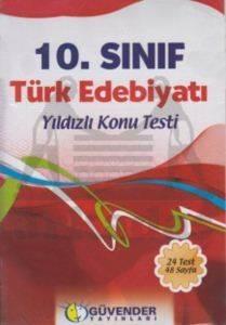 Güvender 10. Sınıf Türk Edebiyatı Poşet Test 24 Adet