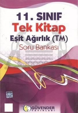 Güvender 11. Sınıf (Eşit Ağırlık) Tek Kitap Soru Bankası