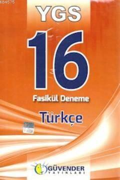 YGS 16 Fasikül Deneme - Türkçe
