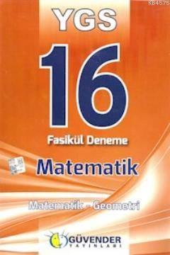 YGS 16 Fasikül Deneme - Matematik