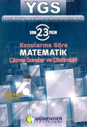 YGS Matematik Çıkmış Sorular Ve Çözümleri